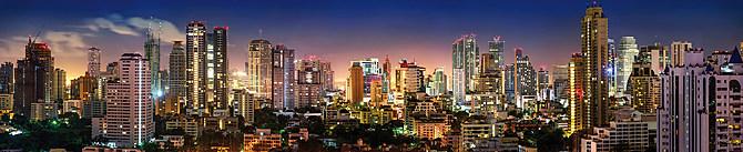 """Motiv """"Skyline Bangkok"""" (0439)"""