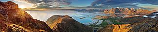 """Motiv """"Norwegische Landschaft"""" (0446)"""