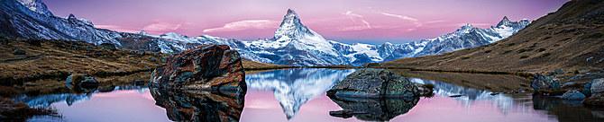 """Motiv """"Matterhorn am Stellisee"""" (0458)"""