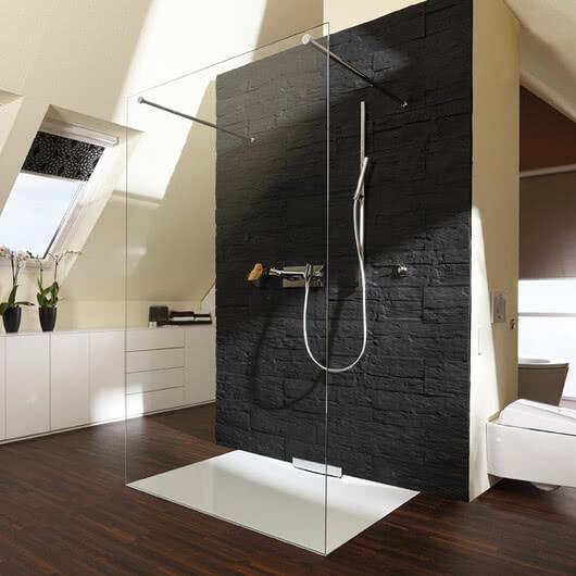 Omega Inloop bath under-roof shower