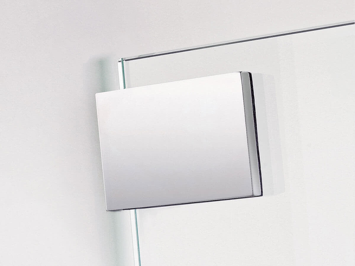 The models are available with a square or rounded wall mount.