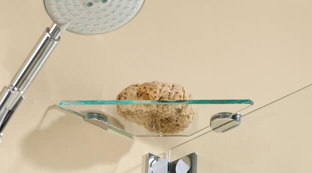 Dusche Omega mit Glasablage
