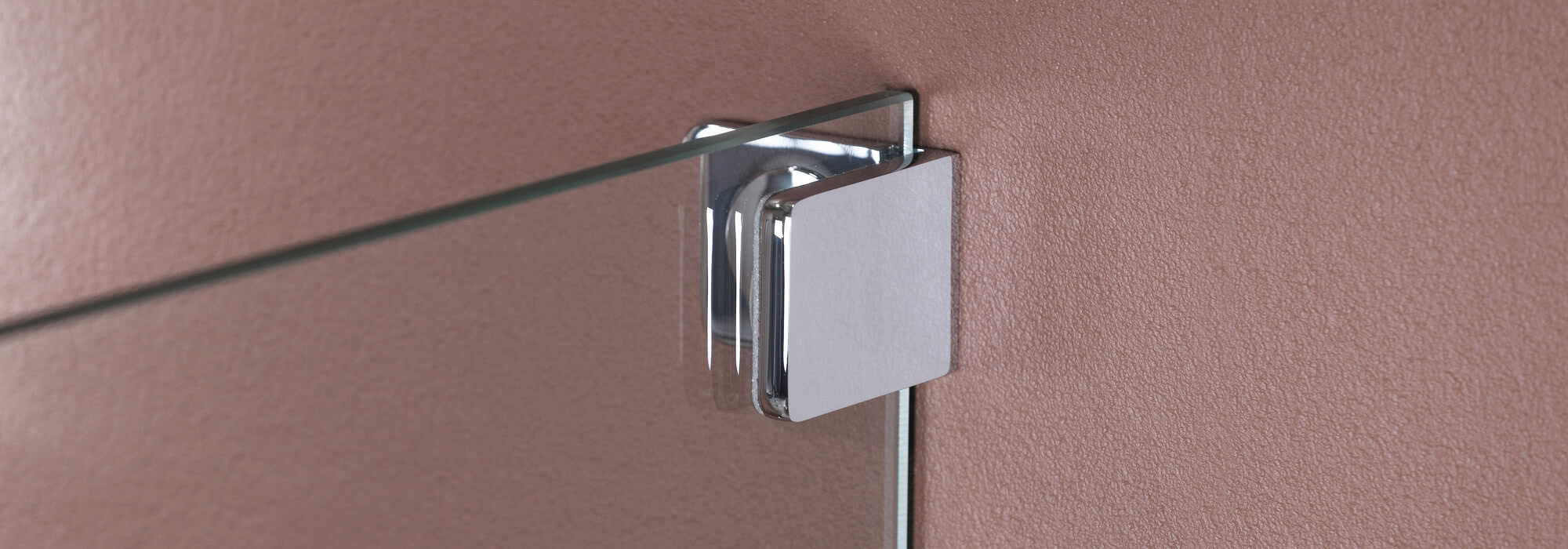 Wall bracket, exterior, for Achat R Plus shower