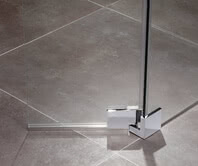 Inloop shower, raise-and-lower swing fitting, bottom, top