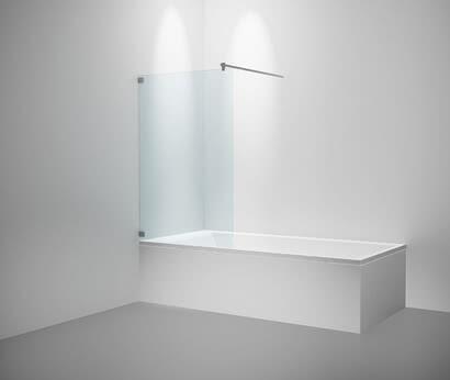 Inloop splash guard for the bathtub