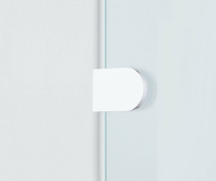 Inloop round bracket with direct wall mount option fixed part