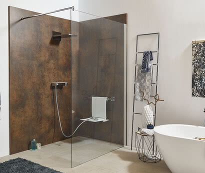 Inloop shower with System Basic