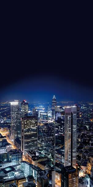 Frankfurt bei Nacht | 4016