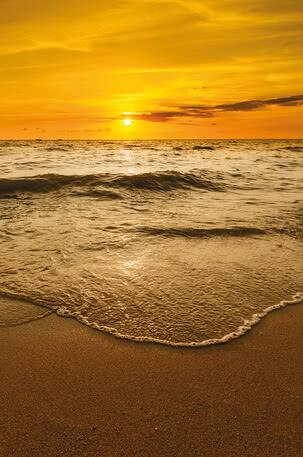 Sonnenuntergang am Meer | 4027