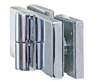 Edition-Line shower hinge, side view