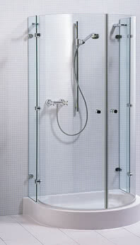 Saphir shower, frameless