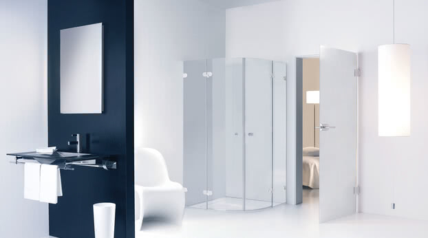 Spinell Plus shower quadrant model