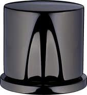 Polished black chrome