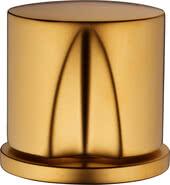 Gold-plated matt velour