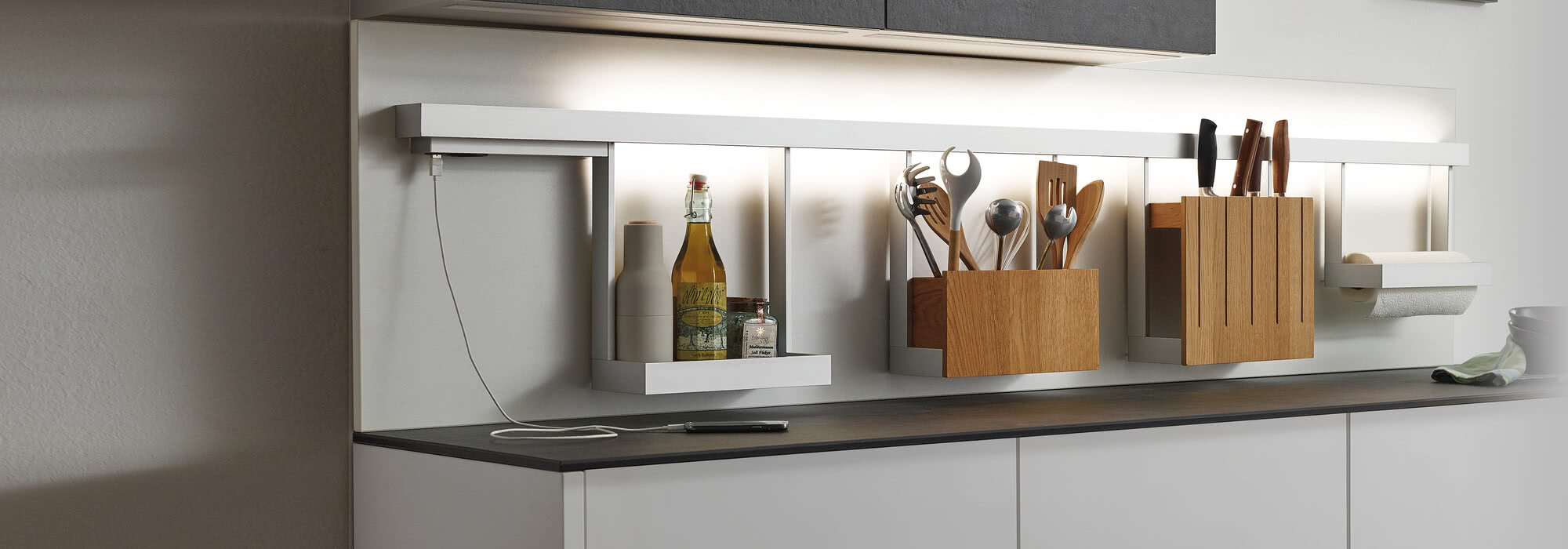 SPRINZ kitchen rail system
