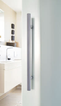 Sliding door system Motion 200 Plus with pull handle