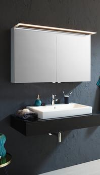 SPRINZ Spiegelschrank mit GLSU-Leuchte