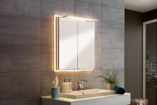 SPRINZ Spiegelschrank Modern-Line