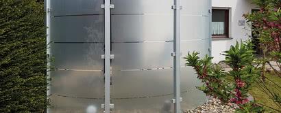 SPRINZ Sichtschutz Glas Sonderlösung