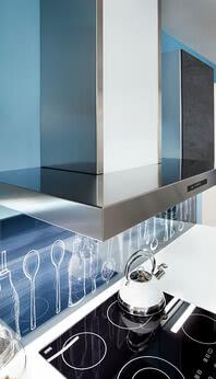 SPRINZ glass worktop