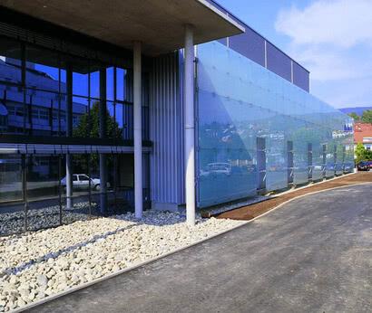 SPRINZ Fassadenverglasung