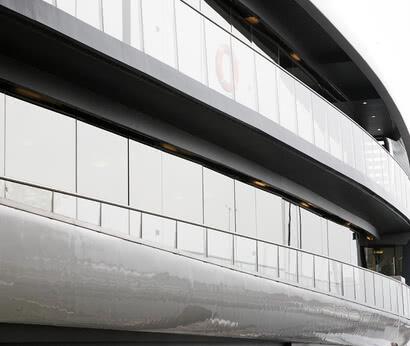 SPRINZ Fassadenverglasung Schiff Sonnenkönigin