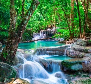 Waterfall in Thailand | 4037