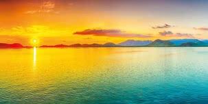 Sunrise on the ocean | 5001