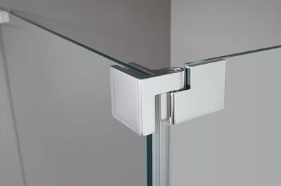 Glass shower Walk-in Plus raise-and-lower swing fitting