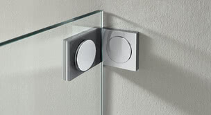 Glass shower Walk-in Plus wall bracket