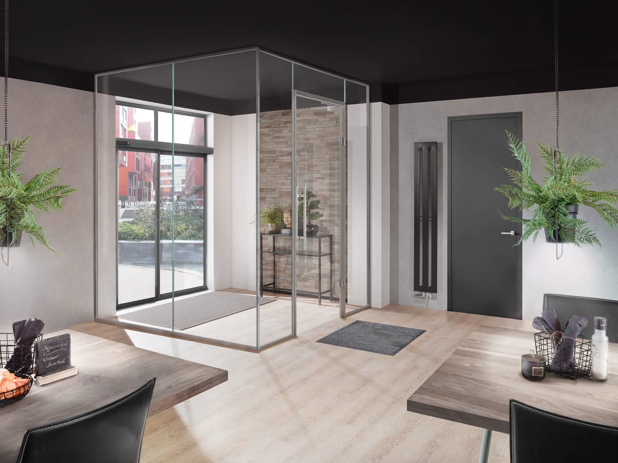 Vestibules: Suitable even for complicated spatial situations