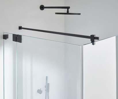 Omega Black Edition shower stabilizing bar