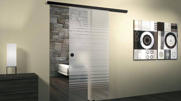 Sliding door system Motion 1300 Black Edition