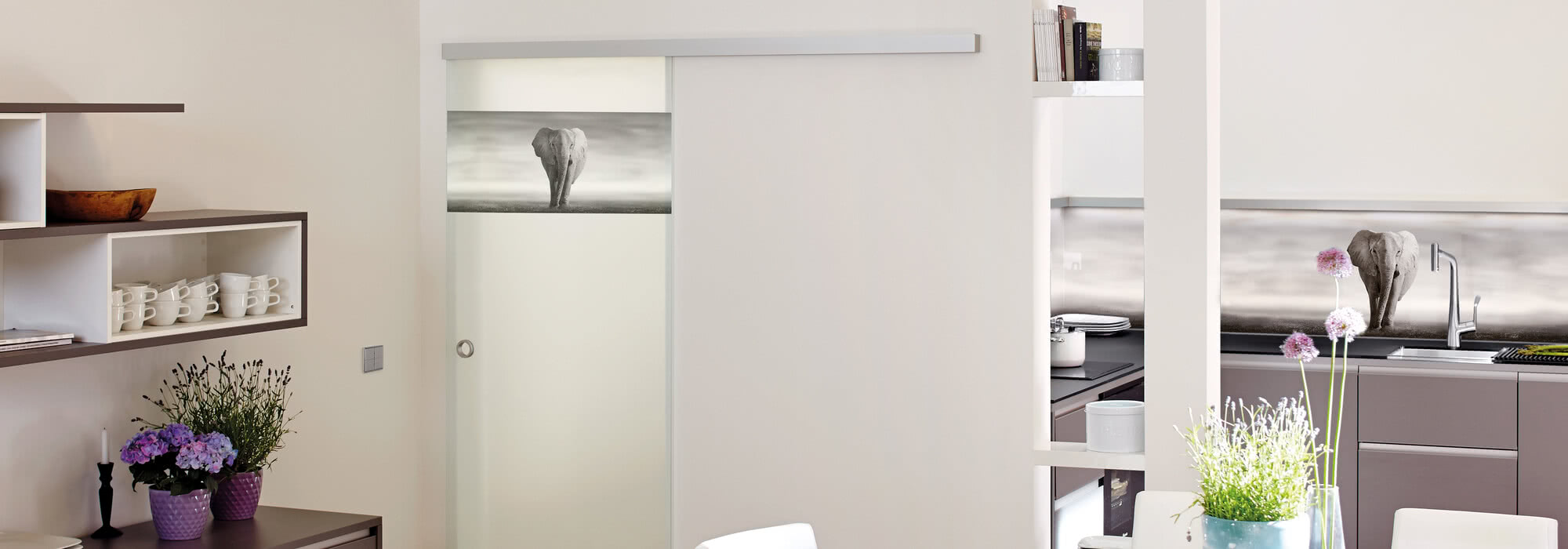 With ColorDoor you can design your doors to match the rest of the ambience in your living area