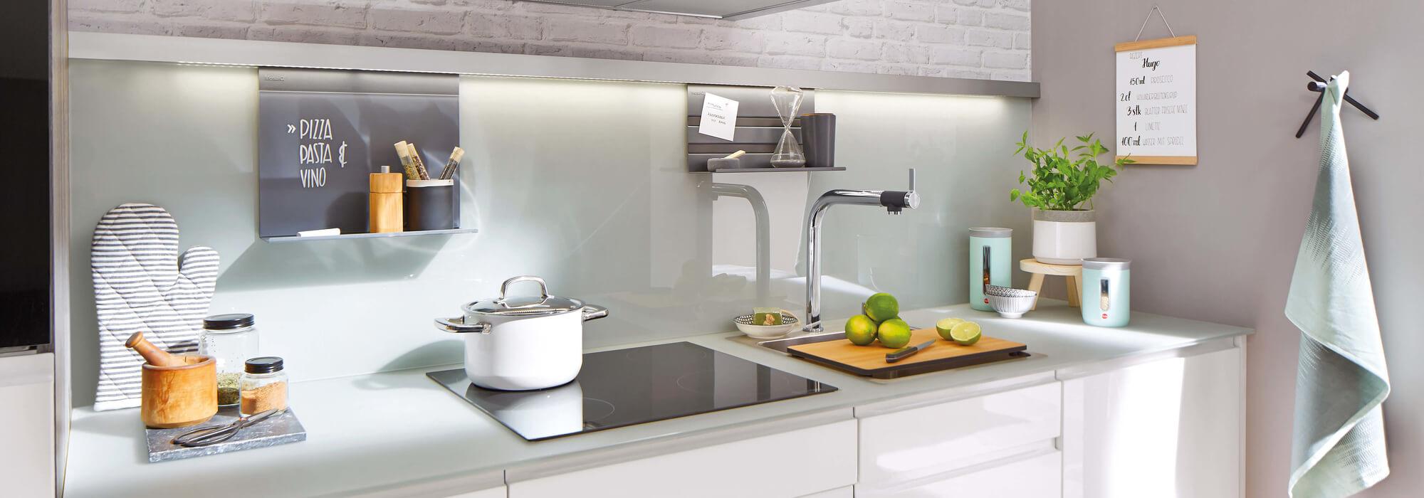 SPRINZ Küchenrückwände aus Glas