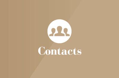 SPRINZ Newskachel Contacts