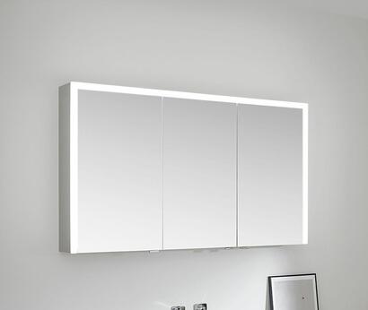 SPRINZ Elegant-Line 2.0 mirror cabinet lights on