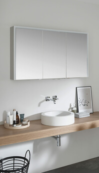 SPRINZ Elegant-Line 2.0 mirror cabinet lights off