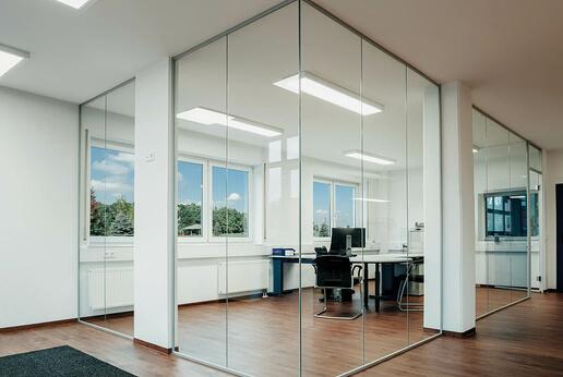 SPRINZ Aluzarge 100 in clear glass
