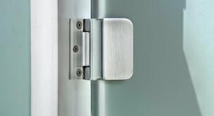 Door fitting post system premium revolving door from SPRINZ