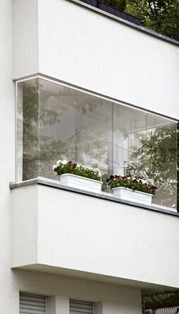 SPRINZ Balkonverglasung